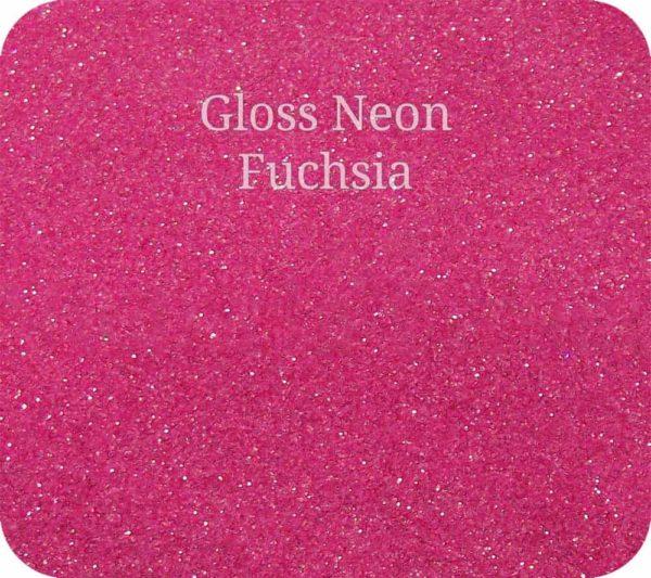 Fine Craft Glitter Gloss Neon Hot Pink 0.2mm Hex (0.008″)